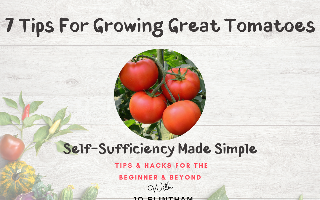 Episode #9 – 7 Tips For Growing Great Tomatoes