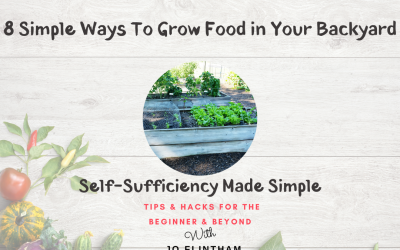 Episode #15 – 8 Simple Ways To Grow Food In Your Backyard