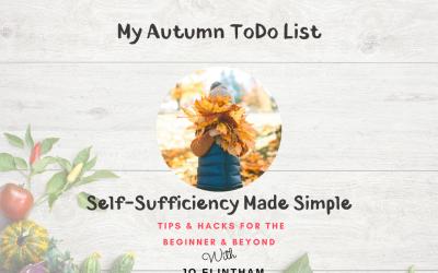 Episode #16 My Autumn ToDo List